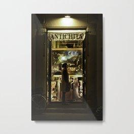 Antique Store - Florence Metal Print