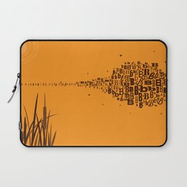 Swarm of B's Laptop Sleeve