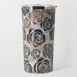 Newsprint Graffiti Travel Mug