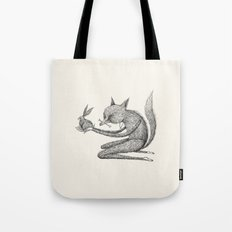 'Offering' - Grey Tote Bag