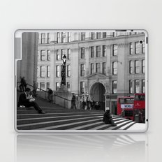 The Steps of St Paul's and London Buses Laptop & iPad Skin