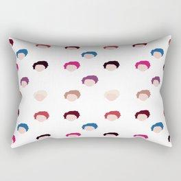 Michael's hair  Rectangular Pillow