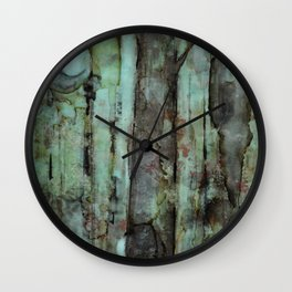 ONE MOON ONE TREE Wall Clock