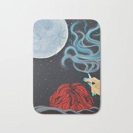 Midnight Toker (#2), Smoking Lady Series Bath Mat