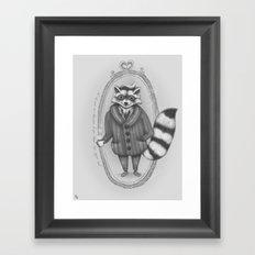 Morning -- Black and White Variant Framed Art Print