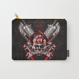 Skull from Gears of war Carry-All Pouch