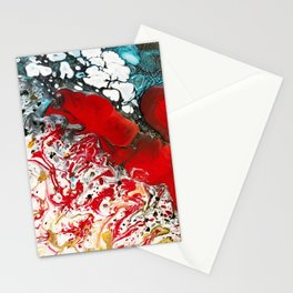 Abstract Field of Flowers - Vulpecula Stationery Cards