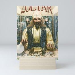 Zoltar the fortune teller London England UK Mini Art Print