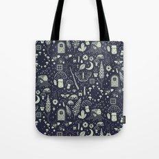 Fairy Garden: Midnight Tote Bag