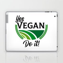 Yes Vegan Do It Laptop & iPad Skin