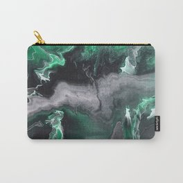 Emerald Lightning Carry-All Pouch