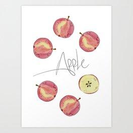 Apple mood Art Print