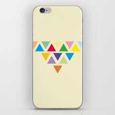 TRIANGLE COMPOSITION iPhone & iPod Skin