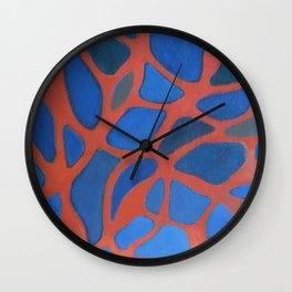 The Wrong Line Wall Clock
