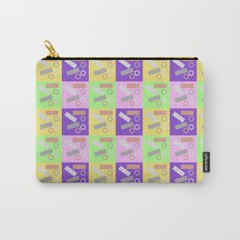 Checky Check Carry-All Pouch