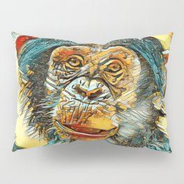 AnimalArt_Chimpanzee_20170602_by_JAMColorsSpecial Pillow Sham