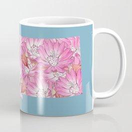 Montana in Flowers Coffee Mug