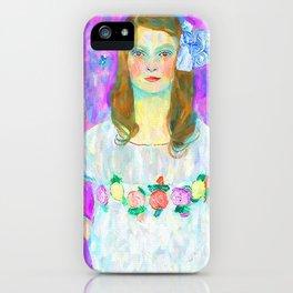 Portrait of Mada iPhone Case
