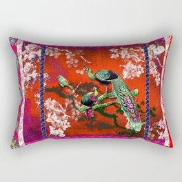 An afternoon in the oriental gardem Rectangular Pillow