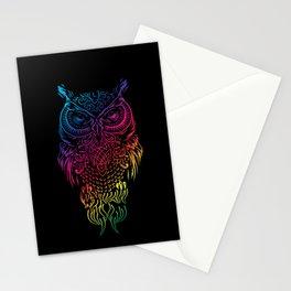 Owl, Barn Owl, starring Stationery Cards