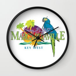 margaritaville key west 2021 Wall Clock