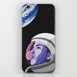Bubblegum Spacehead iPhone Skin