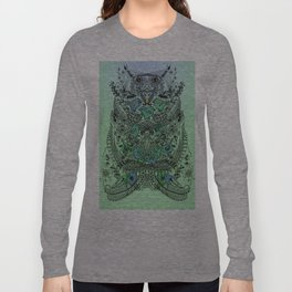 Little Birds and big brother Owl Long Sleeve T-shirt