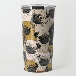 Social Pugs Travel Mug