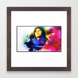 Wondering Whats Next....  Framed Art Print
