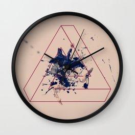 Raven. Wall Clock