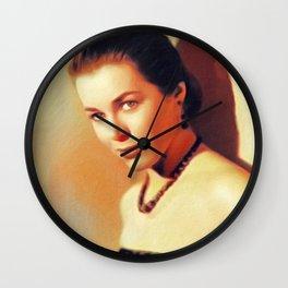 Marianne Koch, Vintage Actress Wall Clock