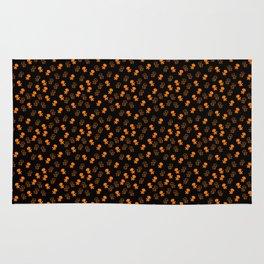 Aliens-Orange Rug