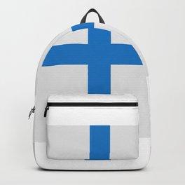 Finland flag Backpack