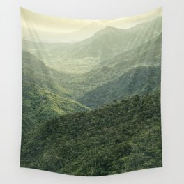 Mists Have Risen Wall Tapestry