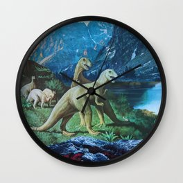 Mesozoic Wall Clock