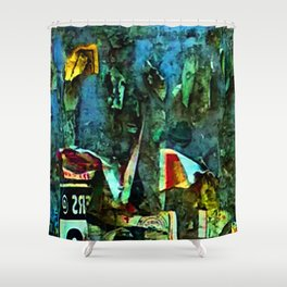 Abstract Vision III Shower Curtain