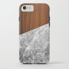 Wooden Marble iPhone Case