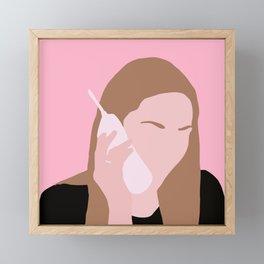 Karen Mean Girls movie Framed Mini Art Print