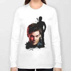 Monster Madness: Dexter Morgan  Long Sleeve T-shirt