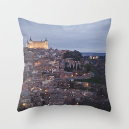 Toledo Spain Throw Pillow