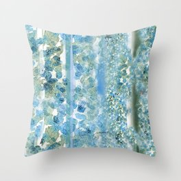 Canopy of Flowers for Two: Coordinates with Canopy Throw Pillow