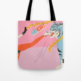 Winter Lunch Tote Bag