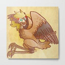 Masked Harpy  Metal Print