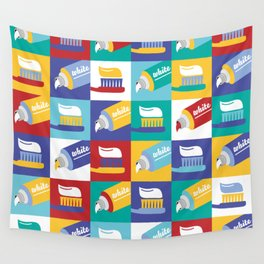 Toothpaste Wall Tapestry