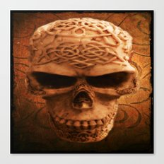 Simply Skull Canvas Print