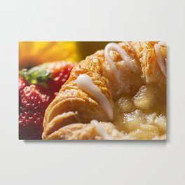 Apple Danish Pastry Metal Print