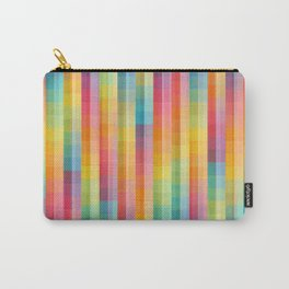 Colorful modern abstract artwork in rainbow colors Carry-All Pouch