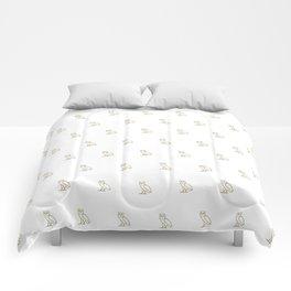 Classic Owl - White Comforters