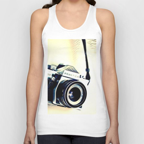 Classic Camera (Hipster) Unisex Tank Top
