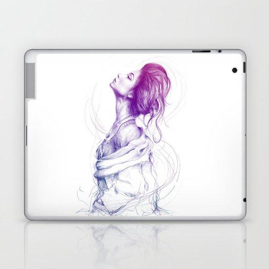 Beautiful Woman Lady Portrait Fashion Art Laptop & iPad Skin
